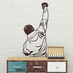 Adesivi Murali: Rocky Balboa #cinema #decorazione #deco #StickersMurali