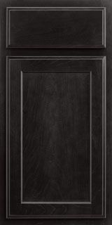 Merillat Classic™ Spring Valley Stained Kona- Upstairs master bathroom cabinets