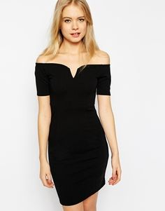 Enlarge Vero Moda Off The Shoulder Body-Conscious Dress