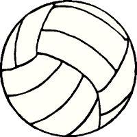 volleyball ball clipart