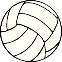 clip art border volleyball | PowerPoint Presentation - NORTHMONT VOLLEYBALL
