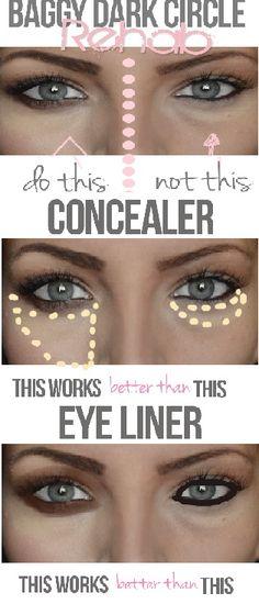 Maquillaje: Camuflaje de bolsas y ojeras - Maskcara