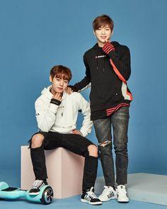 Zyrodrone x Wanna One members Jihoon and Daniel
