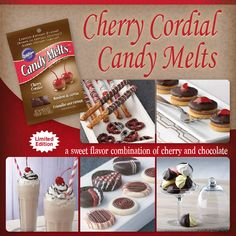 Bring the sweet flavor combination of cherry and chocolate