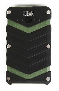 Amazing power bank! Military grade technology makes it indestructible! Useful anywhere - charges a phone 10 times over!!