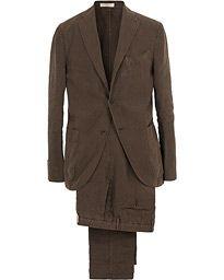 Boglioli K Jacket Linen Suit Brown