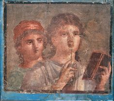 Late antique wall paintings