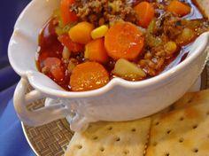 Hearty Hamburger Soup Recipe - Food.com
