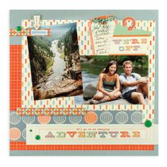 Adventure - Scrapbook.com  featuring the Jet Set Collection from We R Memory Keepers