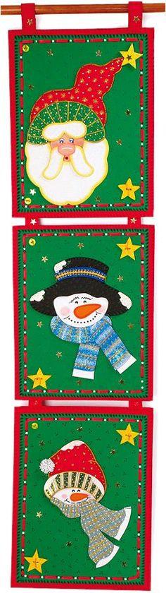 Descargue los Moldes o Patrones para hacer este Pendón Navidad en Foamy Goma Eva. Fácil y divertido de hacer en su hogar o trabajo. GRATIS..!