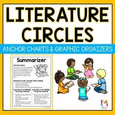 Literature Circles Role Anchor Charts