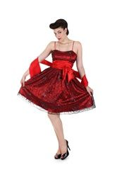 If the bow was black... or at least the right shade of red, it'd be perfffecttttt.