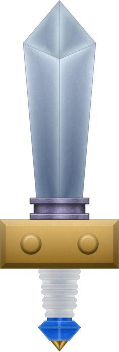 MM Kokiri Sword by BLUEamnesiac Geek Out, Legend Of Zelda, Deviantart, Link Costume, Swords, Weapon, Futuristic, Addiction, Nintendo