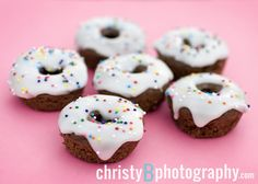 Chocolate Bake Donuts with Buttermilk Glaze