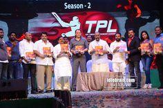 #TelanganaPremierLeague (Season - 2) Launch http://www.idlebrain.com/news/functions1/launch-telanganapremierleague/index.html