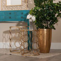 Estas mesitas son un complemento perfecto para tu salón, entrada o terraza. Además estar hoy de #oferta en hogaresconestilo.com #home #hogar #estilo #deco #decoración