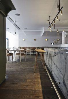 Michel Restaurant & Cocktail Bar in Helsinki by Joanna Laajisto |  http://www.yatzer.com/michel-joanna-laajisto-helsinki