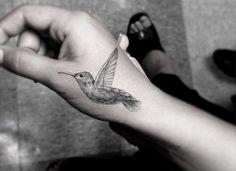 Hummingbird Tattoos for Hand