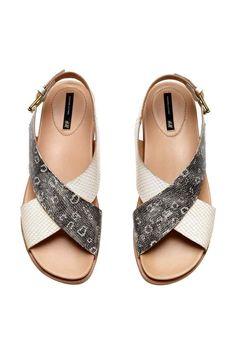 Sandali in pelle | H&M