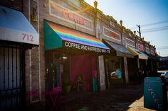 Cuties Coffee, Los Angeles' Queer Community Space, Needs Your Help Hazel Park, Coffee Shop Aesthetic, Community Space, Living In New York, Lake View, West Hollywood, Sober, Pacific Northwest, Night Life