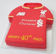 40th liverpool fc shirt | by Hannah Loves Cake