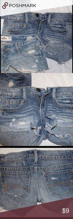 Decree Denim Ripped Shorts Decree Denim Ripped Shorts in a size 1/ 25-26. Decree Shorts Jean Shorts