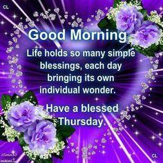 854 Best Thursday Blessingsgreetings Images Good Morning Thursday