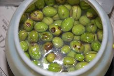 It is the traditional way we are curing the green olives. And this recipe is from my grandma. The one person that knows how to make them perfect.