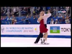 Tessa Virtue Scott Moir Ice Dance World Championships Figure Skating FD 2012