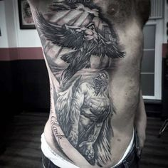 60 Icarus Tattoo Designs For Men