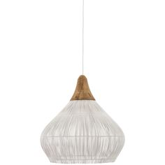 Two eco friendly sources paired reclaimed teak wood and bamboo. With their bobbed trims, these pendant lamps will add a flair of sophistication and eleganc
