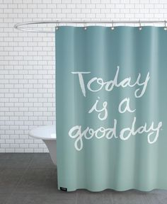 Good Day-Shower Curtain
