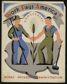 This DBQ uses WWII-era WPA posters to examine how art can be used to influence public opinion. Key questions guide students in a close reading