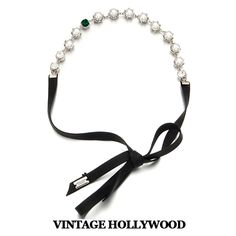 Pearl Hairband by Vintage Hollywood