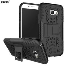 IDOOLS For Samsung Galaxy A5 2017 Case Luxury Silicon Plastic Back Cover 5.2 Inch Phone Bag Cases for Samsung A5 2017 a520 a520F