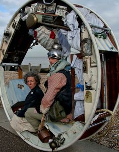 The Wheel House is a live performance in which two acrobatic performers entertain audiences with the slow-paced rolling travel of their mobile home.