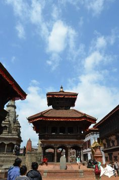 Entering #Durbar_Square in #Bhaktapur just a few days before the 7.8 magnitude earthquake struk in #Nepal