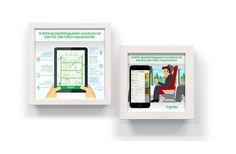 Schneider Energiahatekonysag mikrografika Infographics, Polaroid Film, Phone, Telephone, Infographic, Info Graphics, Mobile Phones, Visual Schedules