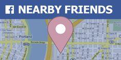 #FacebookNearbyFriends: vuoi sapere se uno dei tuoi amici è nelle vicinanze? Scopri la funzione di #Facebook appena arrivata in Italia, chiamata da noi #AmiciNelleVicinanze... per sapere sempre dove si trovano i tuoi amici