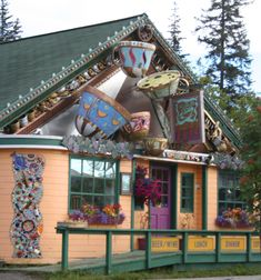 Cups Restaurant in Homer, Alaska. Alaska Travel, Alaska Cruise, Travel Usa, Alaska Trip, Homer Alaska, Alaska The Last Frontier, North To Alaska, Living In Alaska, Anchorage Alaska
