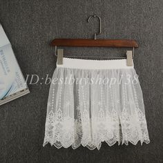 Lace extender skirt