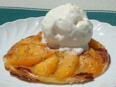 Receta Postre : Tartaletas de nectarina por Saltamontes