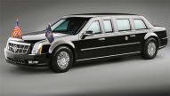 Presidential Cadillac: Barack Obama.