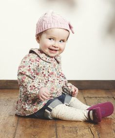 Mothercare Floral Blouse, Denim Shorts and Tights Set