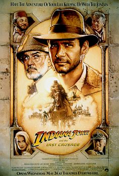 Indiana Jones And The Last Crusade (1989) Harrison Ford, Sean Connery, Alison Doody