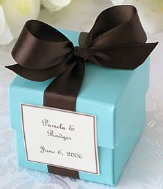 tiffany blue and brown baby shower -
