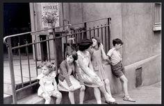 Rue Berthe, Montmartre, Paris, 27 July 1955 © allhails