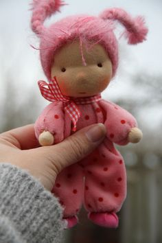 Three Waldorf Steiner Dolls Fig Me Rusi Doll Motheroftoys OOAK | eBay