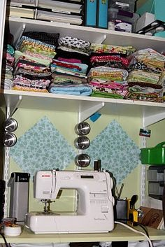 Small sewing space ideas...