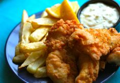 Fish -- one of my favorite summer meals! (I'm totally fantasizing about summer right now!) from favfamilyrecipes.com #fishandchips #seafood #recipes